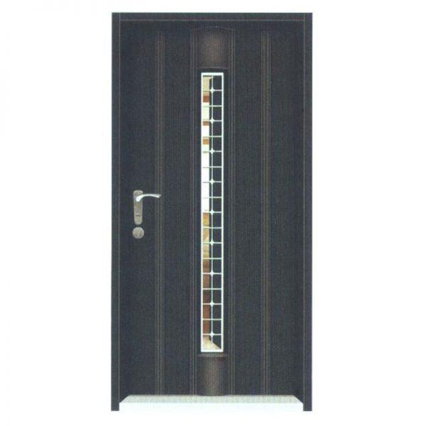 1001黑砂紋造型門中門