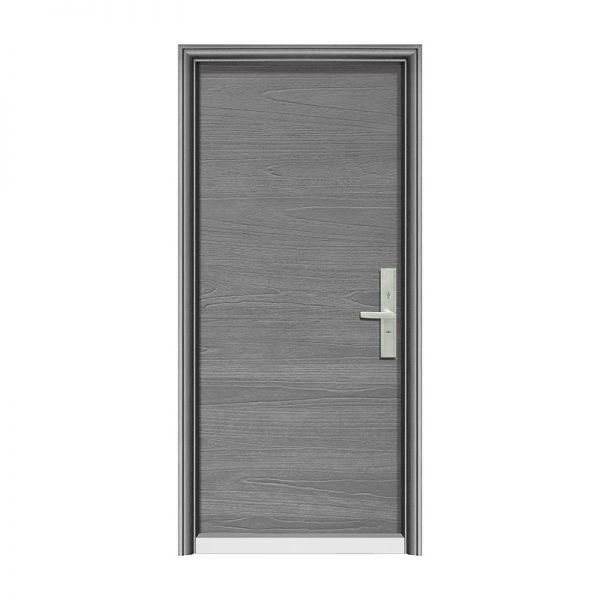鋼木門T2075風尚橫紋-1